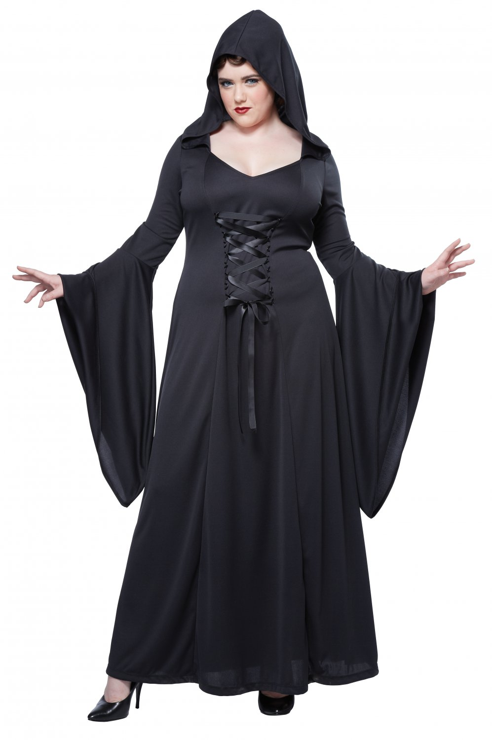Deluxe Hooded Robe Plus Size Adult Costume: 2X-Large #01735
