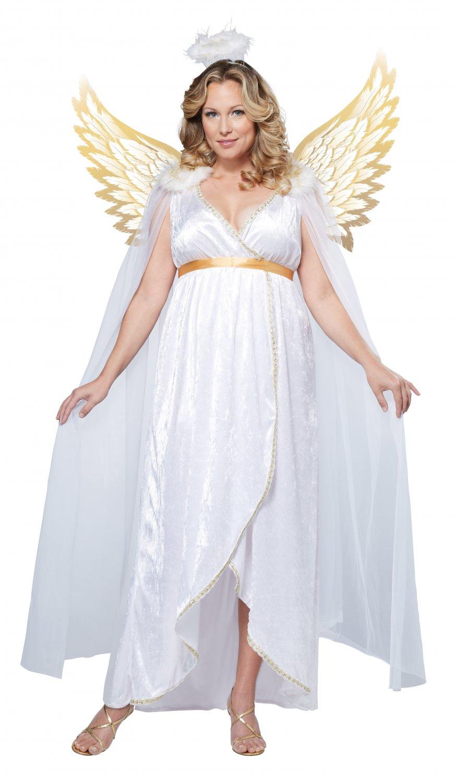 Christmas Guardian Angel Adult Plus Size Costume: 1X-Large #01730