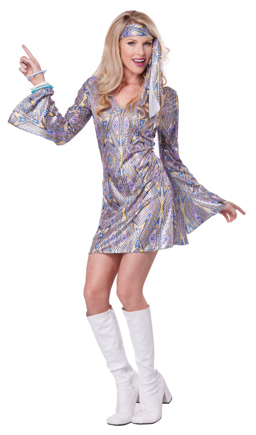 Saturday Night Fever Retro Disco Sensation Adult Costume Size: Medium #01367