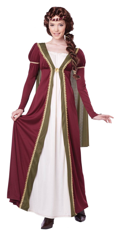 Renaissance Medieval Maiden Queen Adult Costume Size: Medium #01364