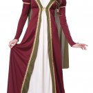 Renaissance Queen Medieval Maiden  Adult Costume Size: X-Small #01364