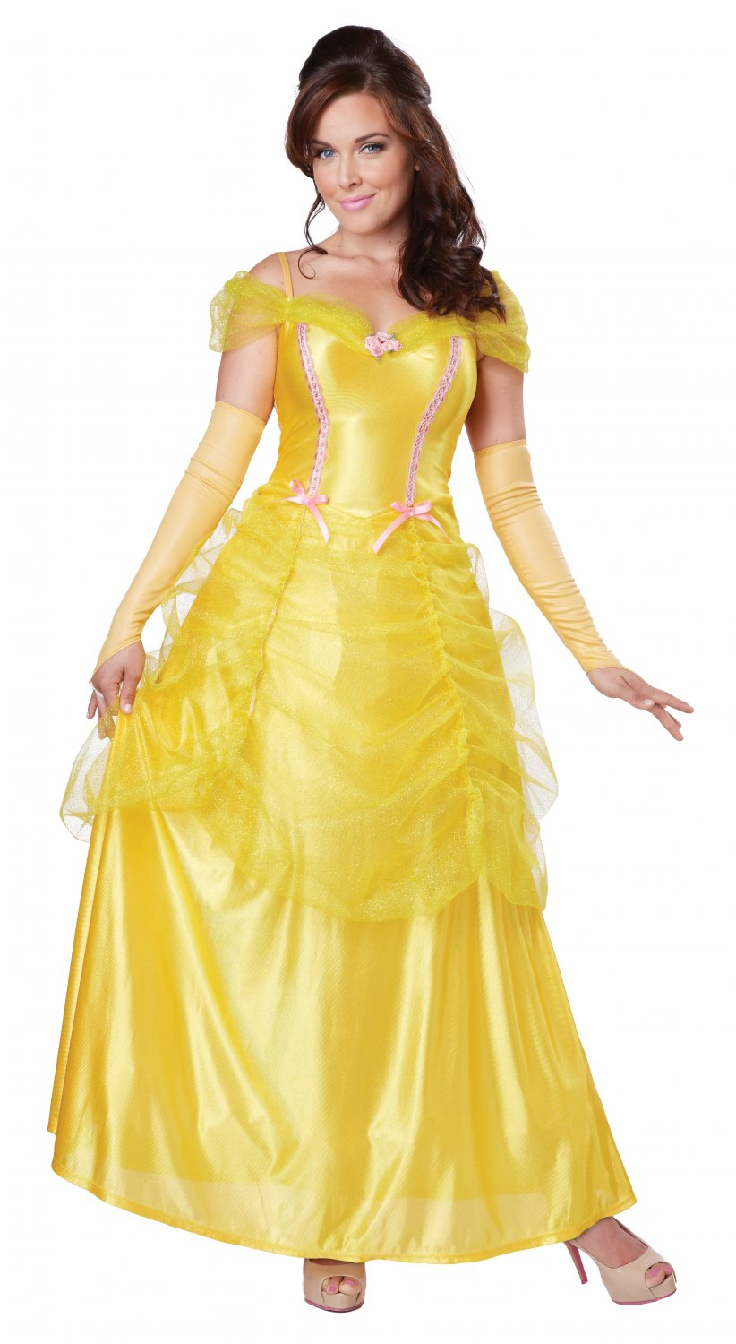 Classic Beauty & The Beast  Belle Adult Costume Size: Large #01346