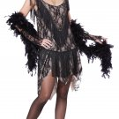 Gatsby Gal Fashion Flapper Adult Costume Size: Large #01344
