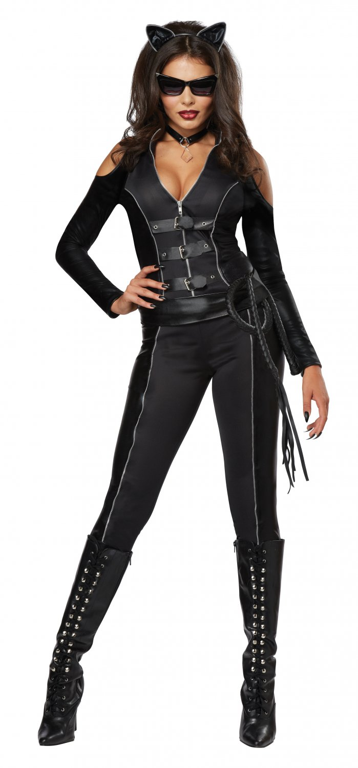 Catwoman Fatal Feline Adult Costume Size: Medium #01342