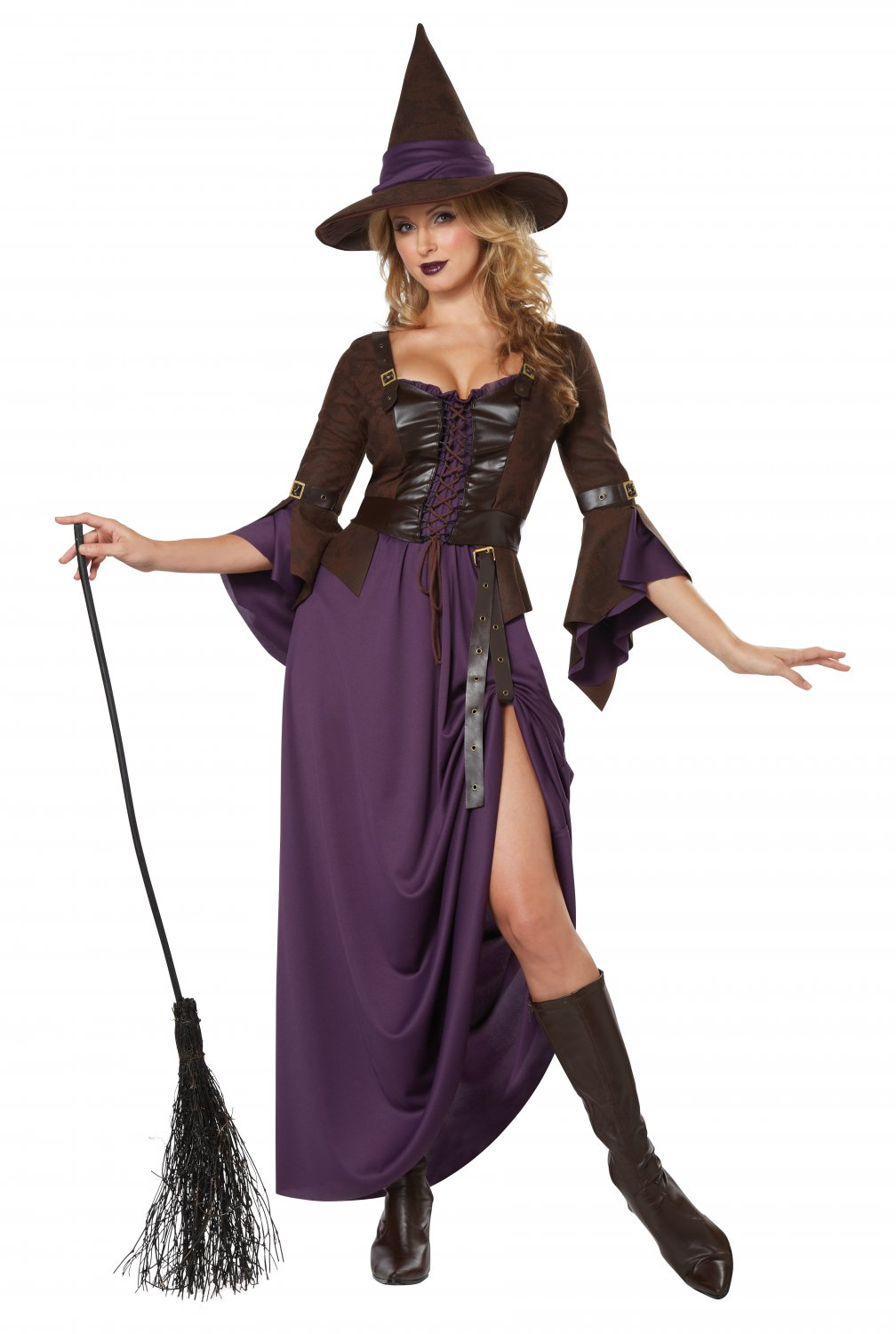 Renaissance Salem Witch Craft Adult Costume Size: Large #01337