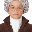 18th Century Peruke Colonial Child Costume Wig #70749