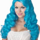 Sweet Tart  Adult Costume Wig - Aqua #70748