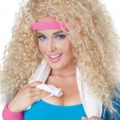 Let's Get Physcial Costume Wig  #70554