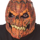 Standard Size: #60540 Headless Horseman Dark Harvest Pumpkin Ani-Motion Adult Costume Mask