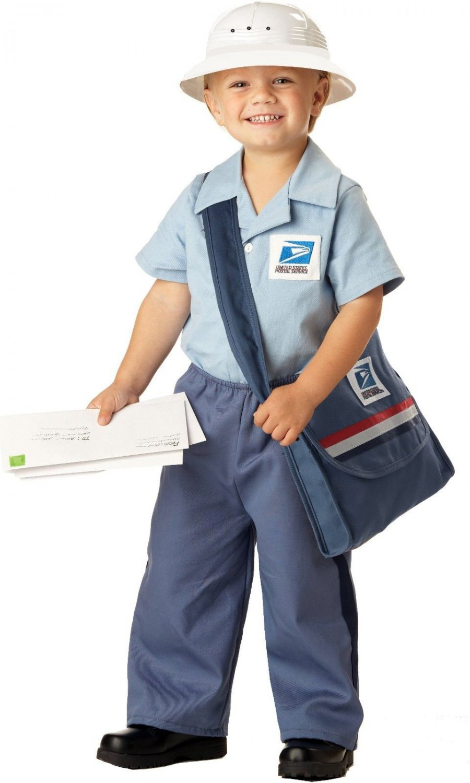 Mr Postman USPS Mailman Toddler Costume Size: Medium #00044