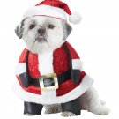 Santa Claus Christmas  Pup Pet Dog Costume Size: Medium #20131