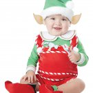 Christmas Santa's Little Helper Elf Infant Costume Size: Medium