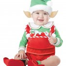 Christmas Elf Santa's Little Helper Infant Costume Size: Large #10038