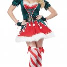 Santa's Sexy Elf Helper Christmas Adult Costume Size: Medium #01552