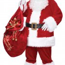 Christmas Santa Claus Deluxe Suit  Adult Costume Size: Large/X-Large #01274