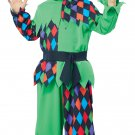 Circus Clown Junior Jester Toddler Costume Size: Large #00168