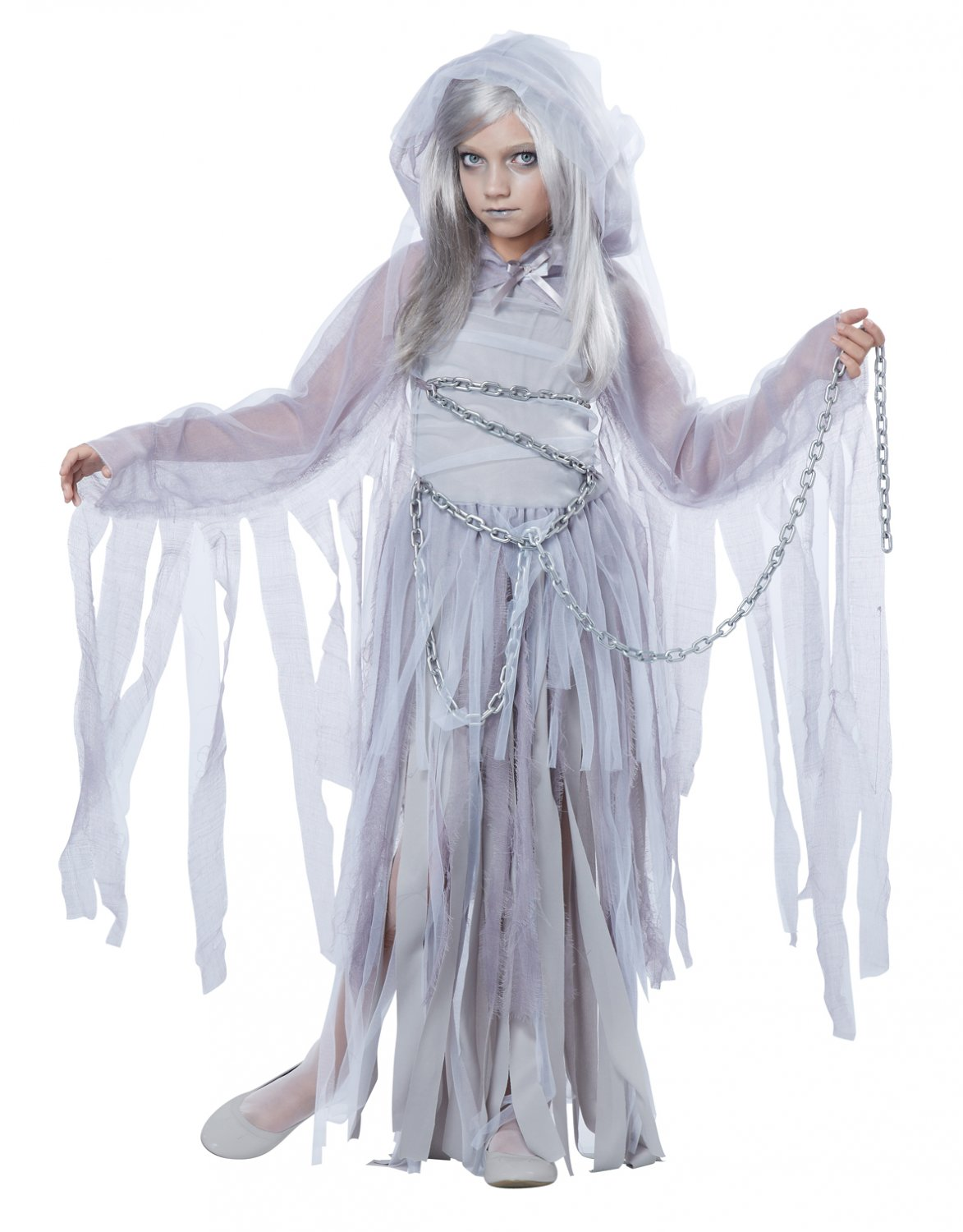 Haunted Beauty Ghost Child Costume Size: Medium #00394
