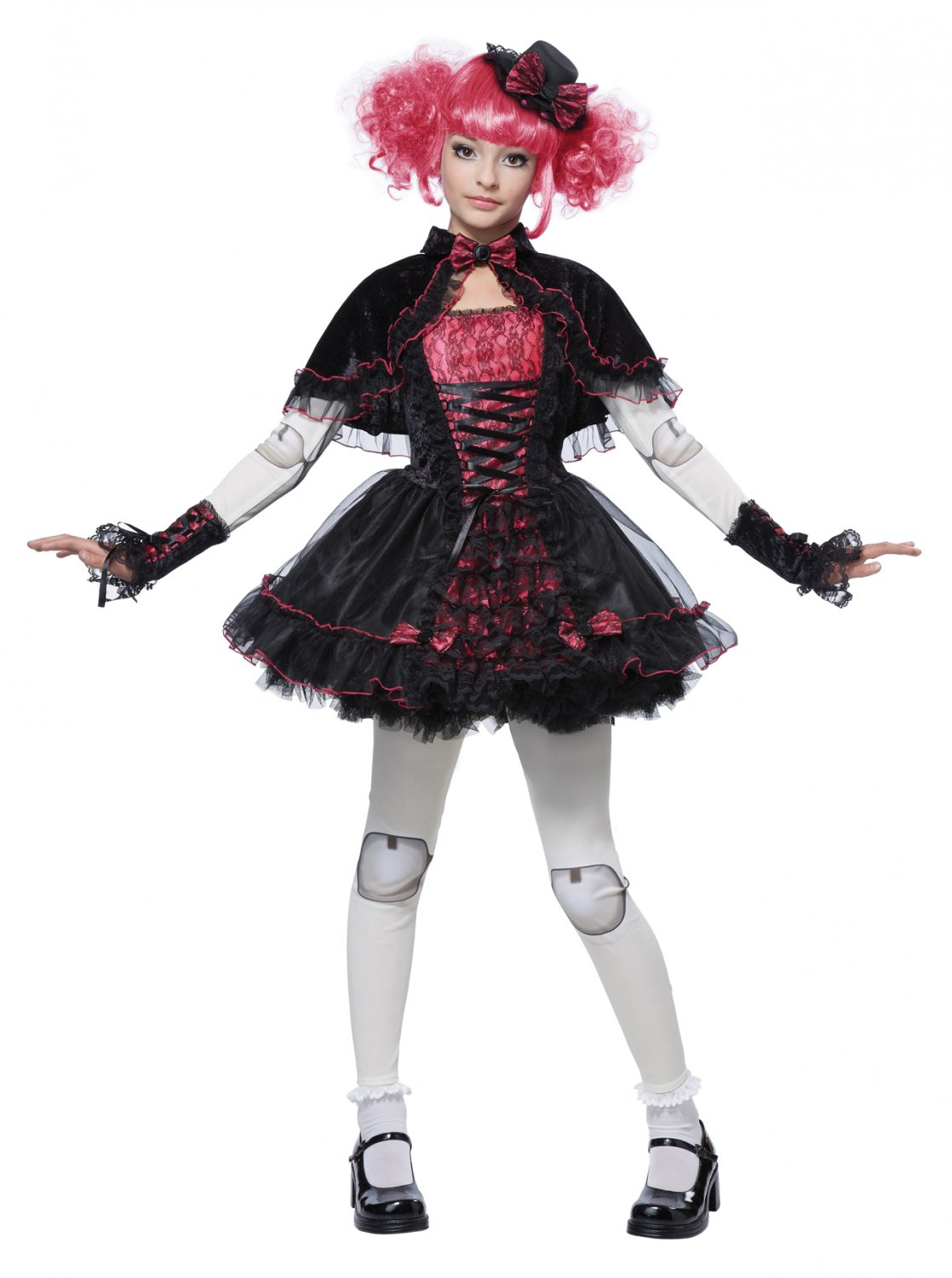 Gothic Victorian Doll Child Costume Size: X-Large #00471