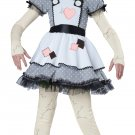 Victorian Haunted Doll Phantom Child Costume Size: Medium #00472