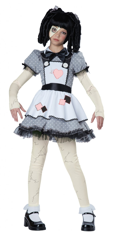 Victorian Haunted Doll Phantom Child Costume Size: Large #00472