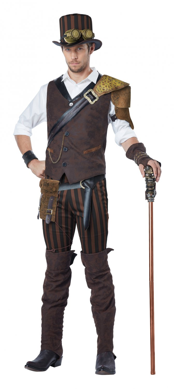 Steampunk Adventurer Adult Costume Size: X-Large #01508