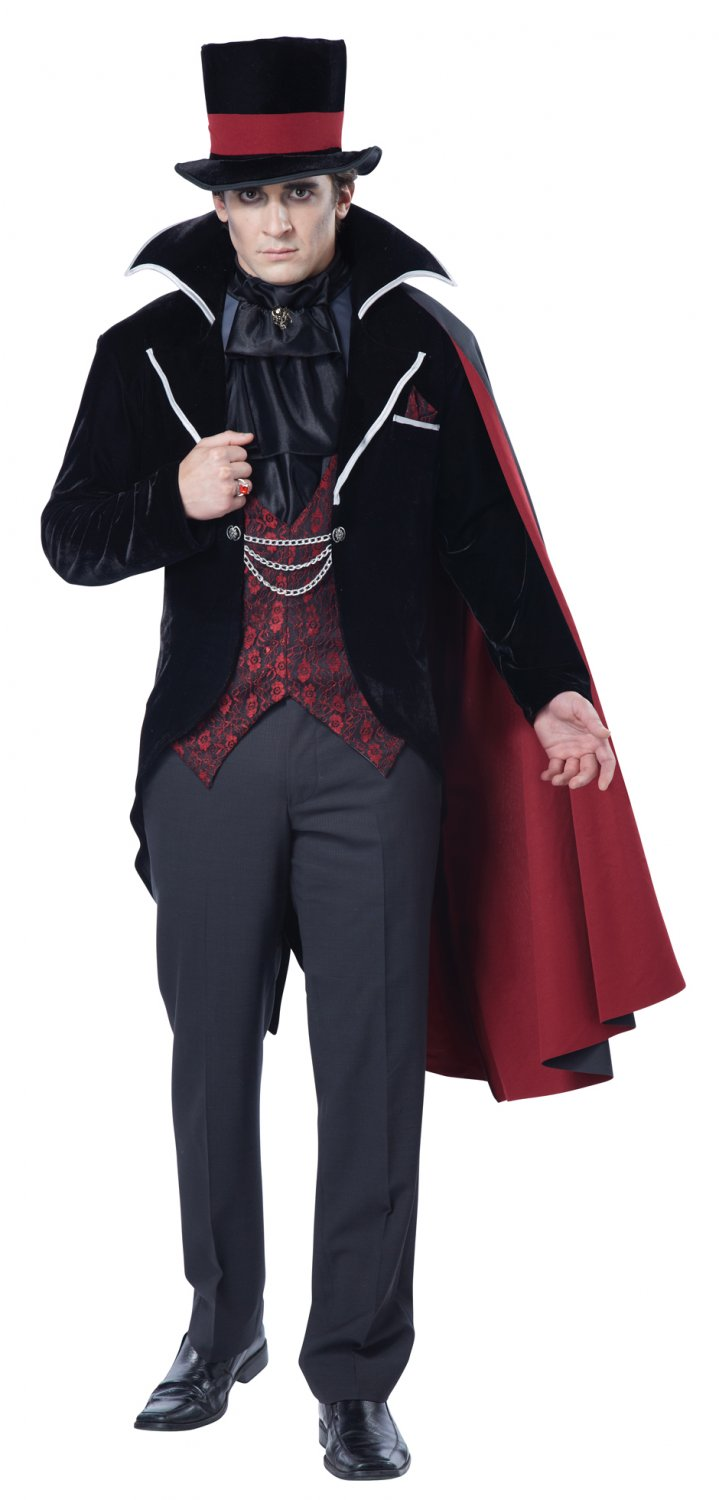 Victorian Gothic Dracula Immortal Vampire Groom Adult Costume Size: X-Large #01505