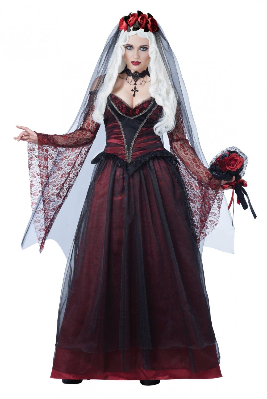 Victorian Immortal Vampire Bride Adult Costume Size: Medium #01503