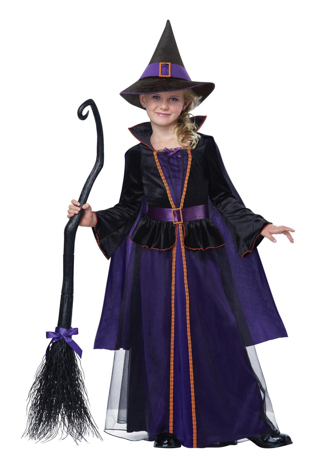 Hocus Pocus Witch Child Costume Size: Large #00499
