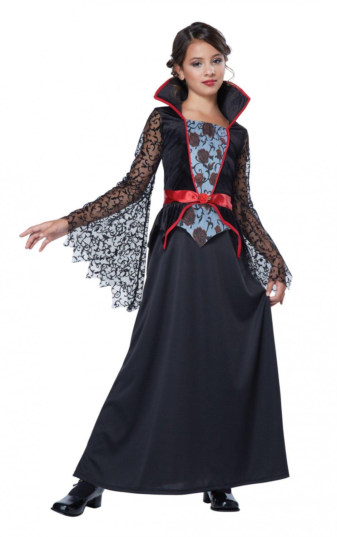 Vampire Countess Bloodthorne Child Costume Size: Large #00498