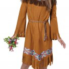 Thanksgiving Pocahontas Indian Girl Child Costume Size: Medium #00497