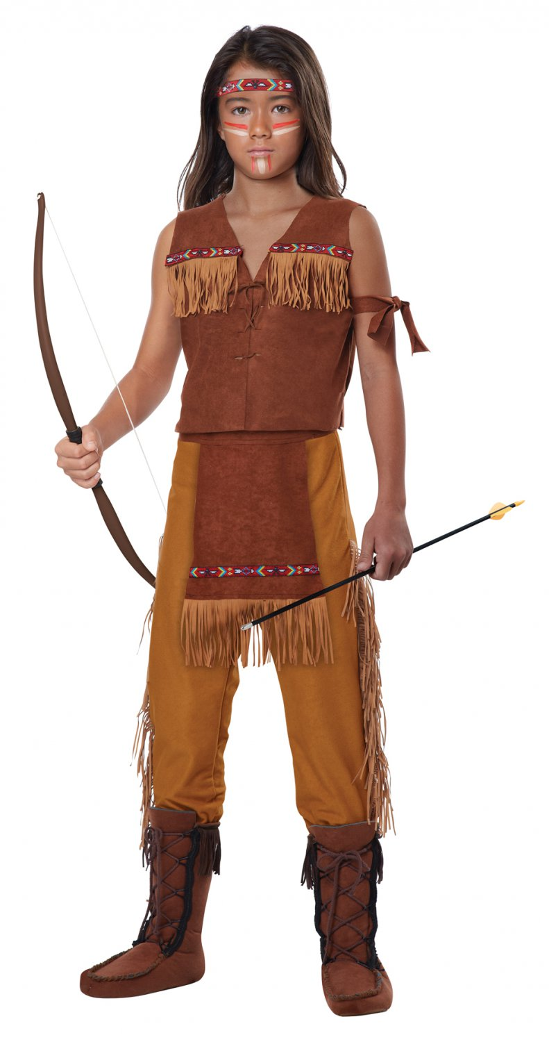 Chief Classic Indian Boy Thanksgiving Child Costume Size: Small #00496