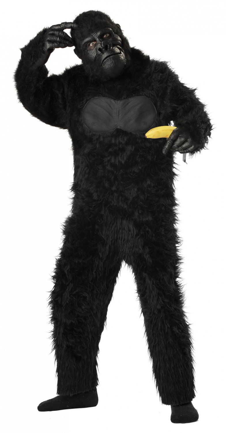 Gorilla Monkey Child Costume Size: Large #00494