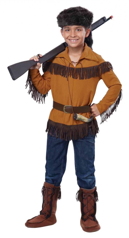 Thanksgiving American Western Frontier Boy/Davy Crockett Child Costume Size: Small #00485