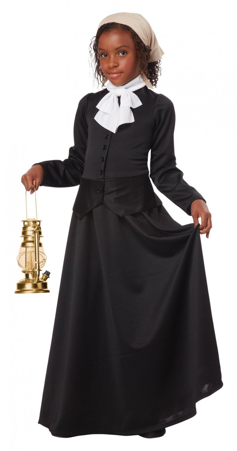 Susan B. Anthony/Harriet Tubman Child Costume Size: Large #00483