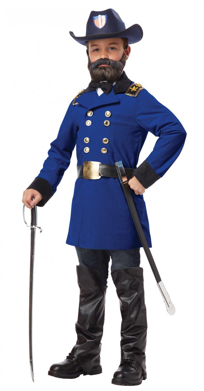 President Civil War Union General Ulysses S. Grant Child Costume Size: X-Large #00481