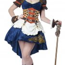 Victorian Steampunk Fantasy Adult Costume Size: X-Small #01576