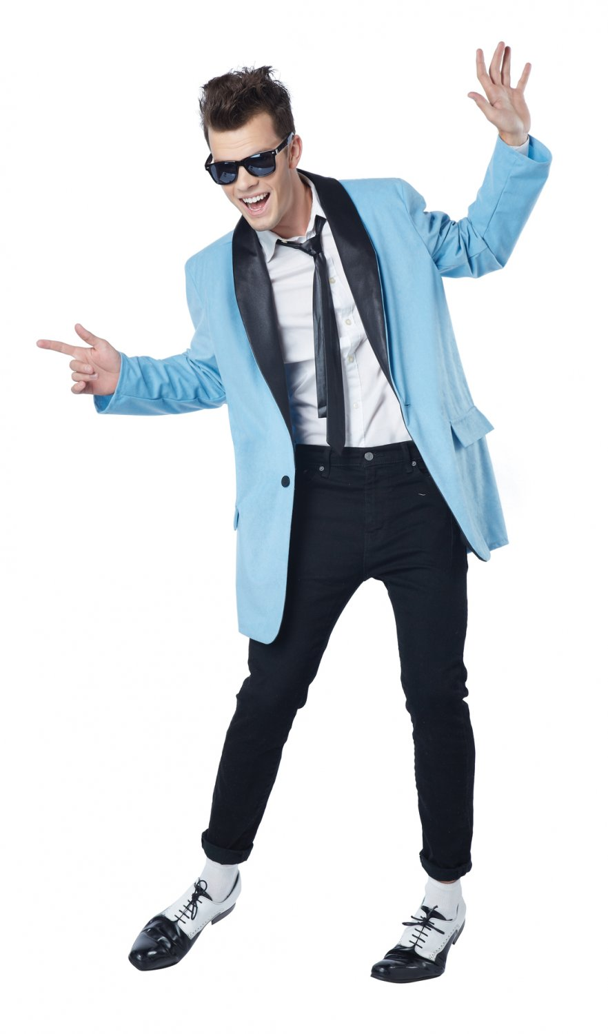 50's Teen Idol Rock and Roll Adult Costume Size: Small #01583