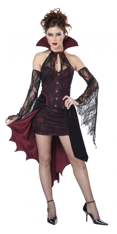 Gothic Vampire Vixen Adult Costume Size: Medium #01587