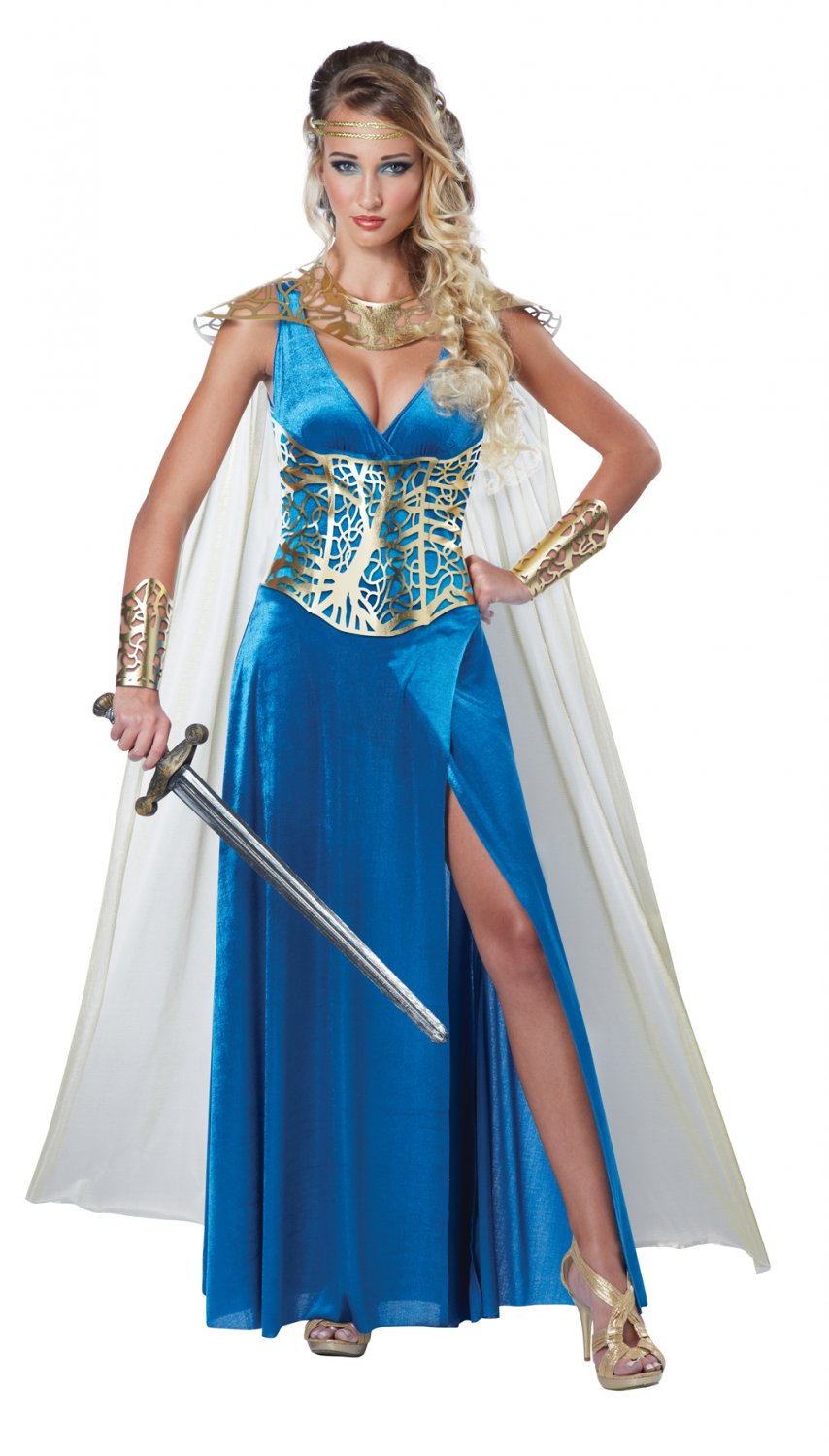 Renaissance Medieval Warrior Queen Adult Costume Size: Medium #01590