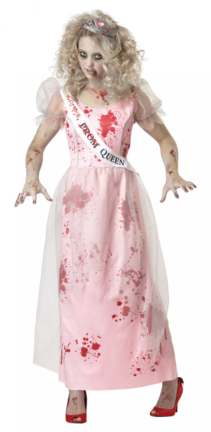 Prom Zombie Walking Dead Adult Costume Size: X-Small #01595
