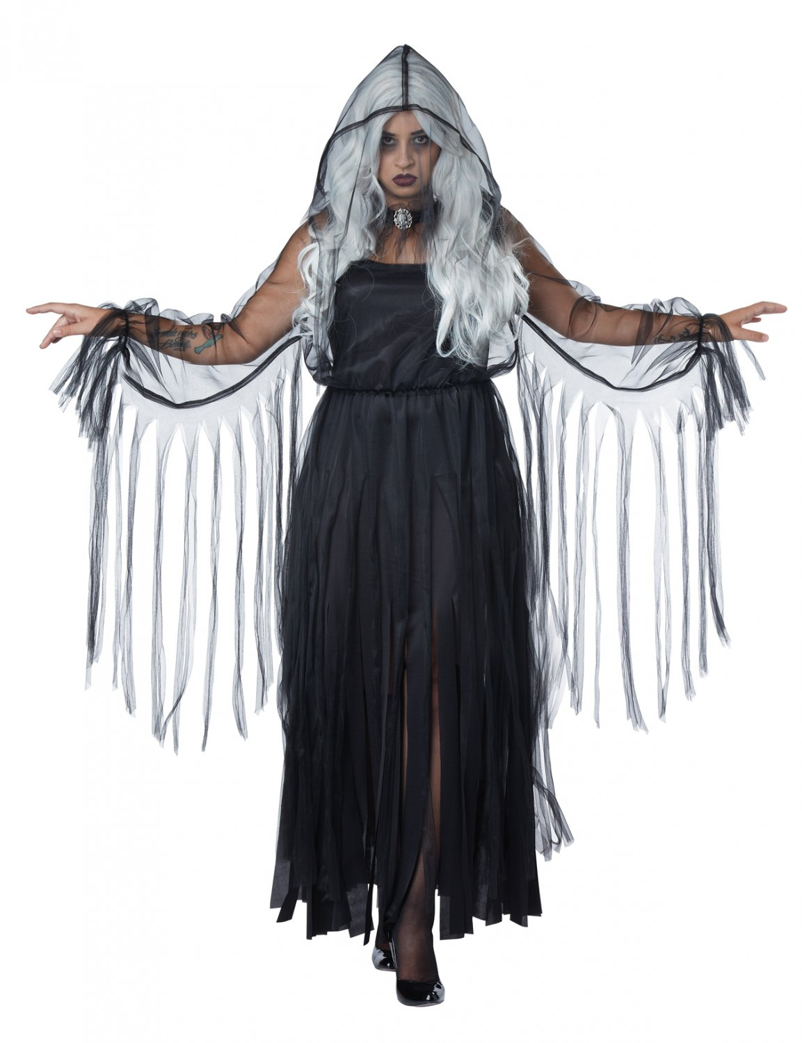Vengeful Spirit Ghost Plus Size Adult Costume: 1X-Large #1755