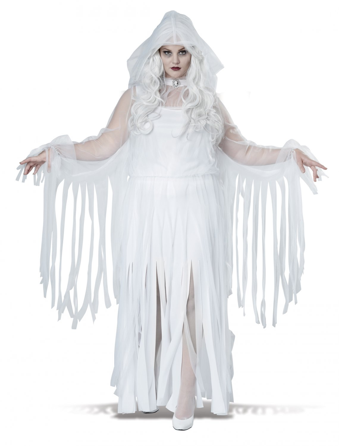 Ghostly Spirit Demon Plus Size Adult Costume: 1X-Large #1756