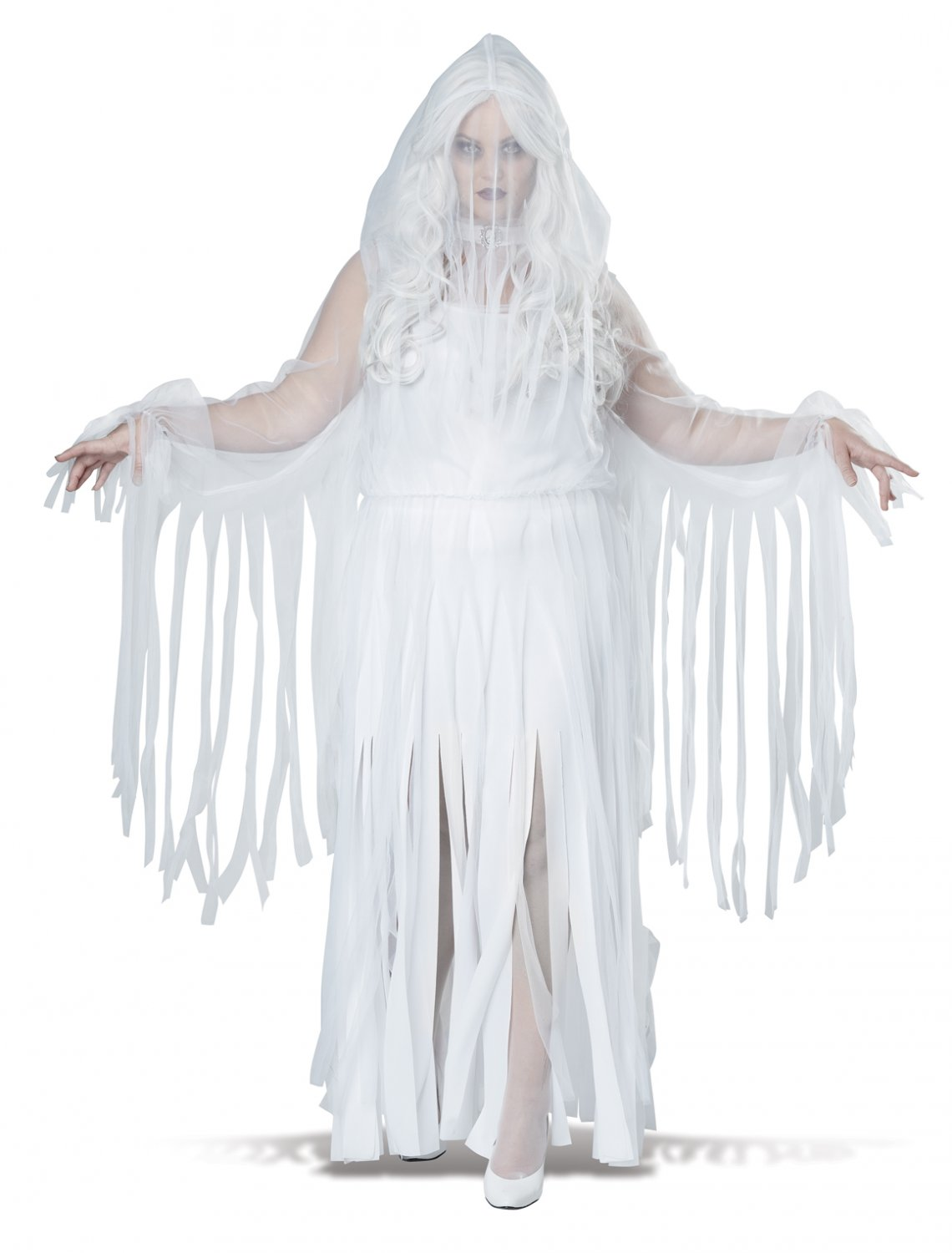 Ghostly Spirit Demon Plus Size Adult Costume: 3X-Large #1756