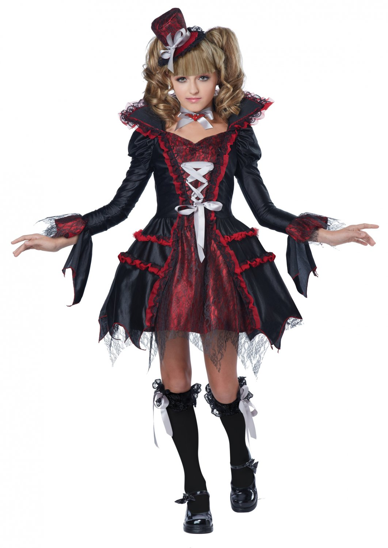 Draculina Von Vampire Tween Costume Size: Large #04085