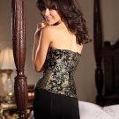 Womens Marlene Corset Black Size: Medium #BW1238-34