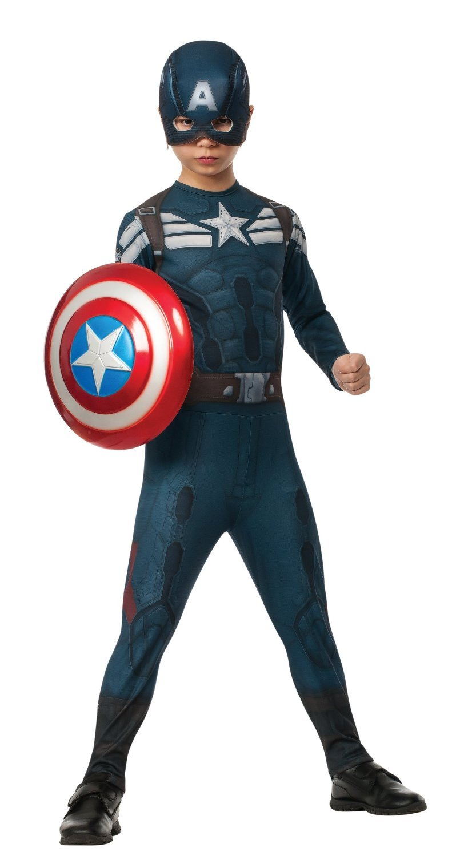 Captain America Winter Soldier Child Costume Size: Medium #885074
