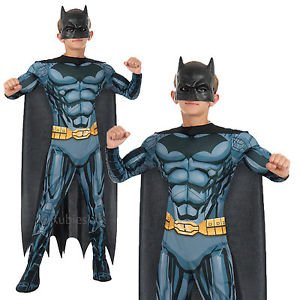 Deluxe Muscle-Chest Batman Costume Size: Medium #881365M