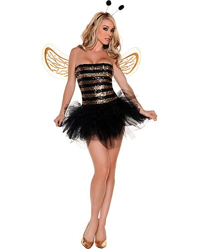 Sexy Sequins Bee Adult Costume Size: X-Large #M0006X