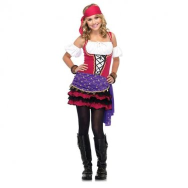 Crystal Ball Gypsy Teen Costume Size: Small/Medium#48036S