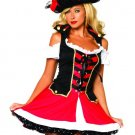 Pirate Aye Aye Admiral Adult Costume Size: X-Small #83625